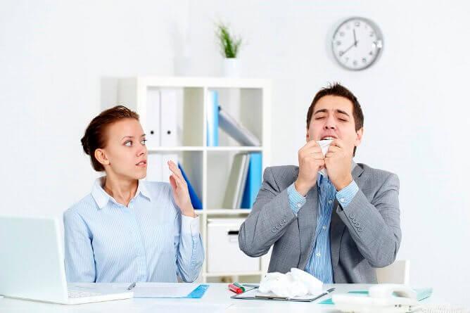 Качество воздуха в офисе