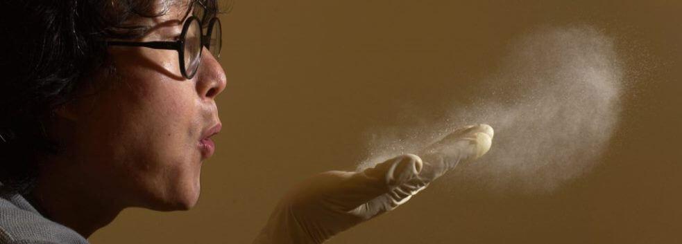 Шкідливий вплив компонентів пилу на організм