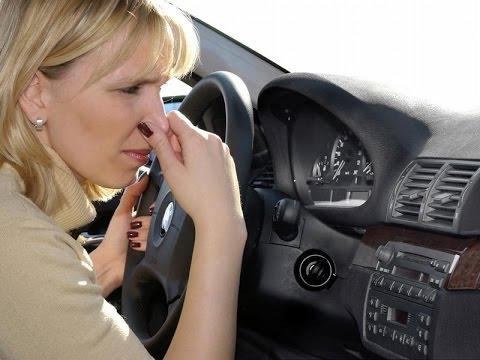 Як позбутися неприємного запаху в автомобілі
