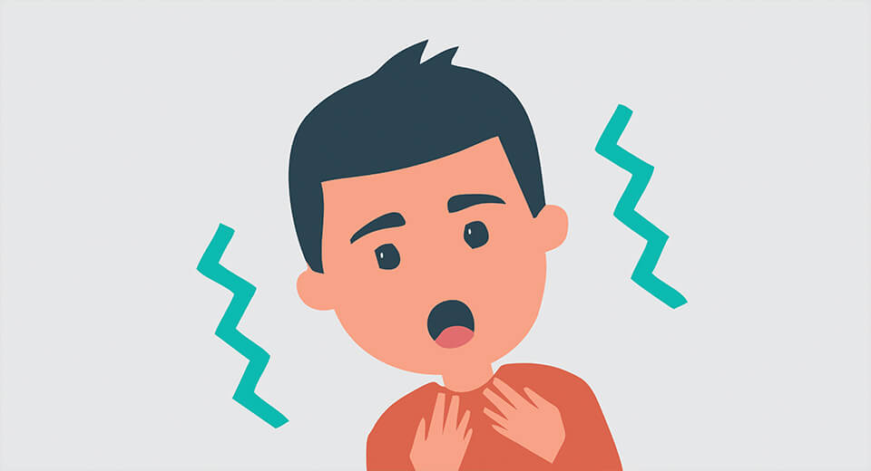 Причини нападу бронхіальної астми