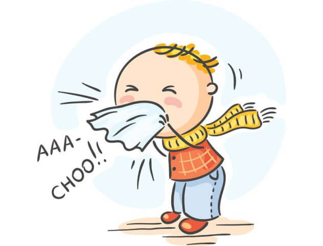 Чому дитина часто чхає?